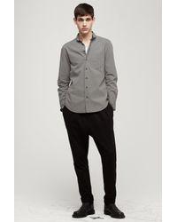 Rag & Bone - Gray Ashbury Shirt for Men - Lyst