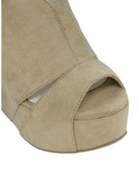 Chinese Laundry | Natural Tone Heeled Wedge | Lyst