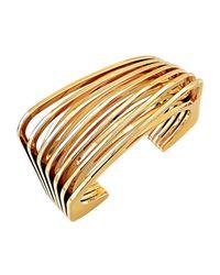 Vita Fede | Metallic Futturo 24k Gold Cuff Bracelet | Lyst