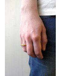 Fraser Hamilton - Metallic Lady Ring Gold - Lyst