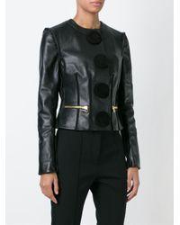Givenchy - Black Circle Appliqué Jacket - Lyst
