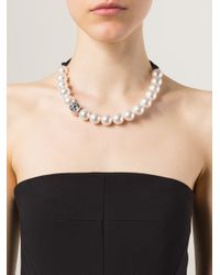 Lanvin - White Azov Pearl Necklace - Lyst