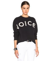 Each x Other - Black Robert Montgomery Voices Sweatshirt - Lyst