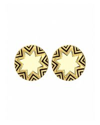House of Harlow 1960 | Metallic Mini Sunburst Stud Earrings | Lyst