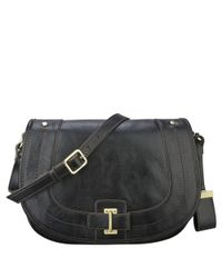 Nine West | Black In The Loop Crossbody Bag | Lyst