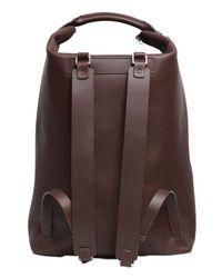 Bonastre - Brown Vegetable Tanned Leather Backpack for Men - Lyst