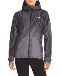 The North Face | Gray Fuseform Insulated Dot Matrix Jacket | Lyst