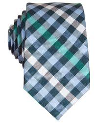 Original Penguin | Green Odo Plaid Skinny Tie for Men | Lyst
