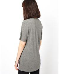 Markus Lupfer - Gray Big Polka Dot Sequin T-shirt - Lyst