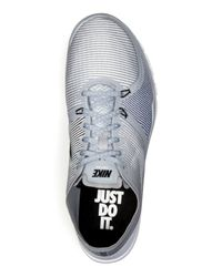 Nike - Gray Free Trainer 3.0 V4 Sneakers - Lyst
