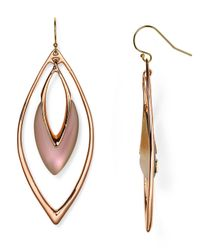 Alexis Bittar | Pink Lucite Orbiting Wire Drop Earrings | Lyst