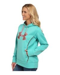 Under Armour - Green Ua Storm Caliber Hoodie - Lyst