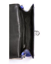 MILLY - Bryant Mini Bag Blue - Lyst