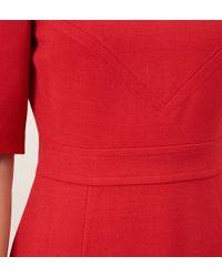Hobbs | Red Blair Dress | Lyst