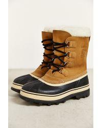 Sorel - Natural 'caribou' Boot for Men - Lyst