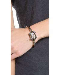Lulu Frost - Black Stellar Bangle Bracelet - Lyst