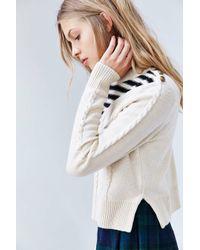 ALICE & UO - Blue Gitane Pullover Sweater - Lyst