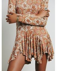 Free People - Natural Womens Annabelle Tunic - Lyst
