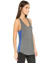 Apres Ramy Brook - Gray Emilie Tank - Charcoal - Lyst