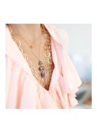 Melissa Joy Manning | Metallic Boulder Opal Three Drop Necklace | Lyst