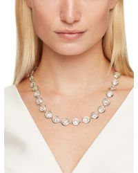 kate spade new york - Metallic Think Links Necklace - Lyst