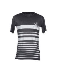 Diesel Black Gold - Gray T-shirt for Men - Lyst