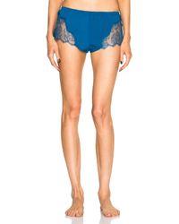 Fleur du Mal | Blue Rose Lace Cami Short | Lyst