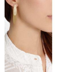Isabel Marant - Metallic Gold-plated Earrings - Lyst