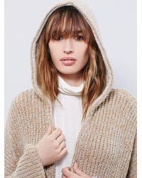 Free People | Natural Womens End On End Cardi | Lyst