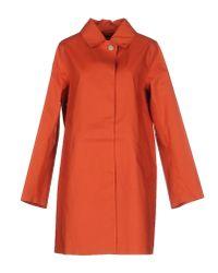 Mackintosh - Orange Full-length Jacket - Lyst