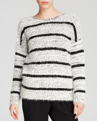 Calvin Klein - Black Plus Eyelash Knit Sweater - Lyst