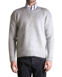 AMI | Gray Grey Sweater for Men | Lyst