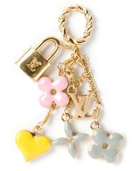 Louis Vuitton | Metallic Charm Pendant | Lyst