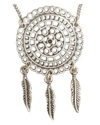 H&M - Metallic Necklace And Earrings - Lyst