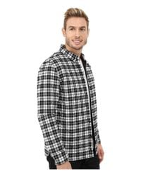 Penfield - Black Kemsey Quilted Long Sleeve Shirt for Men - Lyst