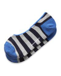 Banana Republic | Blue Bold Stripe Ped for Men | Lyst