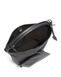 Jil Sander | Black Large Nylon Hobo Bag | Lyst