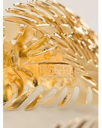 DSquared² - Orange Palm Leaf Bracelet - Lyst