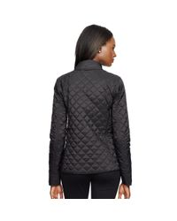 Ralph Lauren | Black Double-breasted Quilted Jacket | Lyst