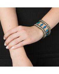 Lionette   Debussi Bracelet Blue   Lyst