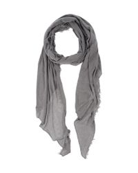 Mauro Grifoni - Gray Oblong Scarf - Lyst