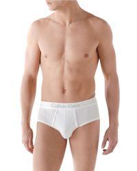 Calvin Klein | White Body 2 Pack Briefs for Men | Lyst