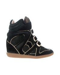 Étoile Isabel Marant | Black Wila Sneaker | Lyst
