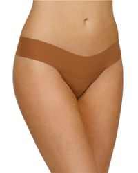 Hanky Panky   Brown Bare Eve Natural-rise Thong   Lyst