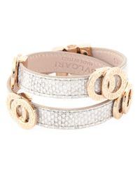 BVLGARI - Metallic Double Coiled Wrap Bracelet - Lyst
