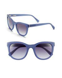 Derek Lam - Blue 'haley' 52mm Sunglasses - Lyst