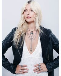 Free People | Metallic Womens New Age Collar | Lyst