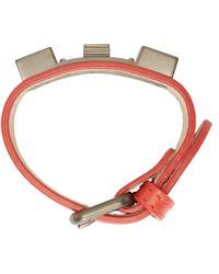 Proenza Schouler | Red Ssense Exclusive Paprika Ps11 Small Bracelet | Lyst
