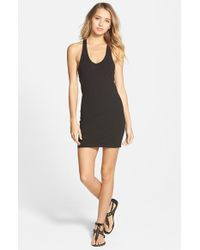 RVCA | Black 'stratta' Body-con Dress | Lyst