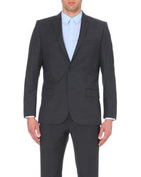J.Lindeberg | Gray Slim-fit Wool Jacket for Men | Lyst